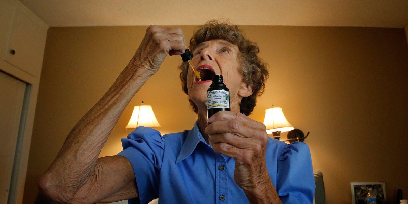 Medical Marijuana a Hit With Seniors, Survey Says