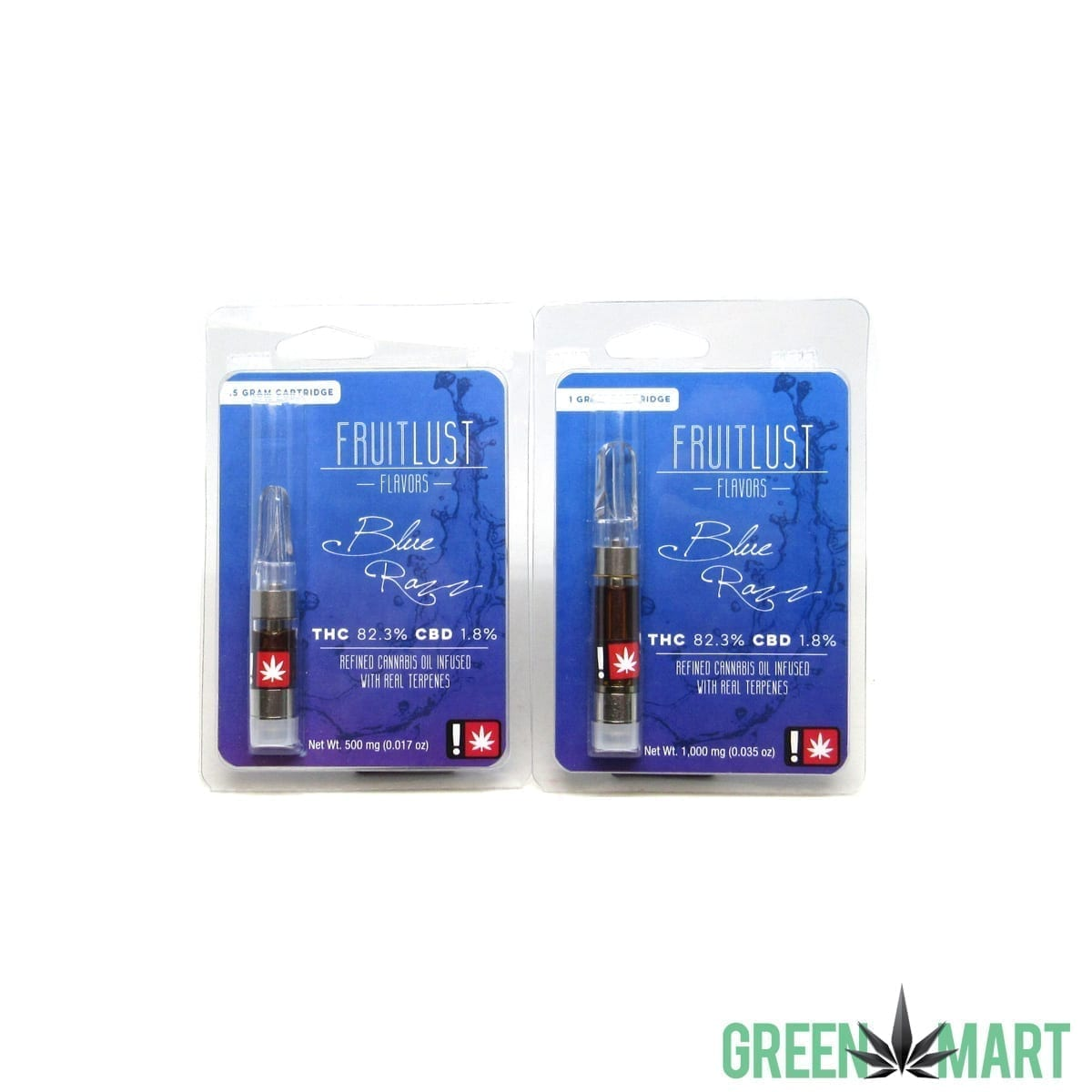 Fruitlust Cartridges - Blue Razz