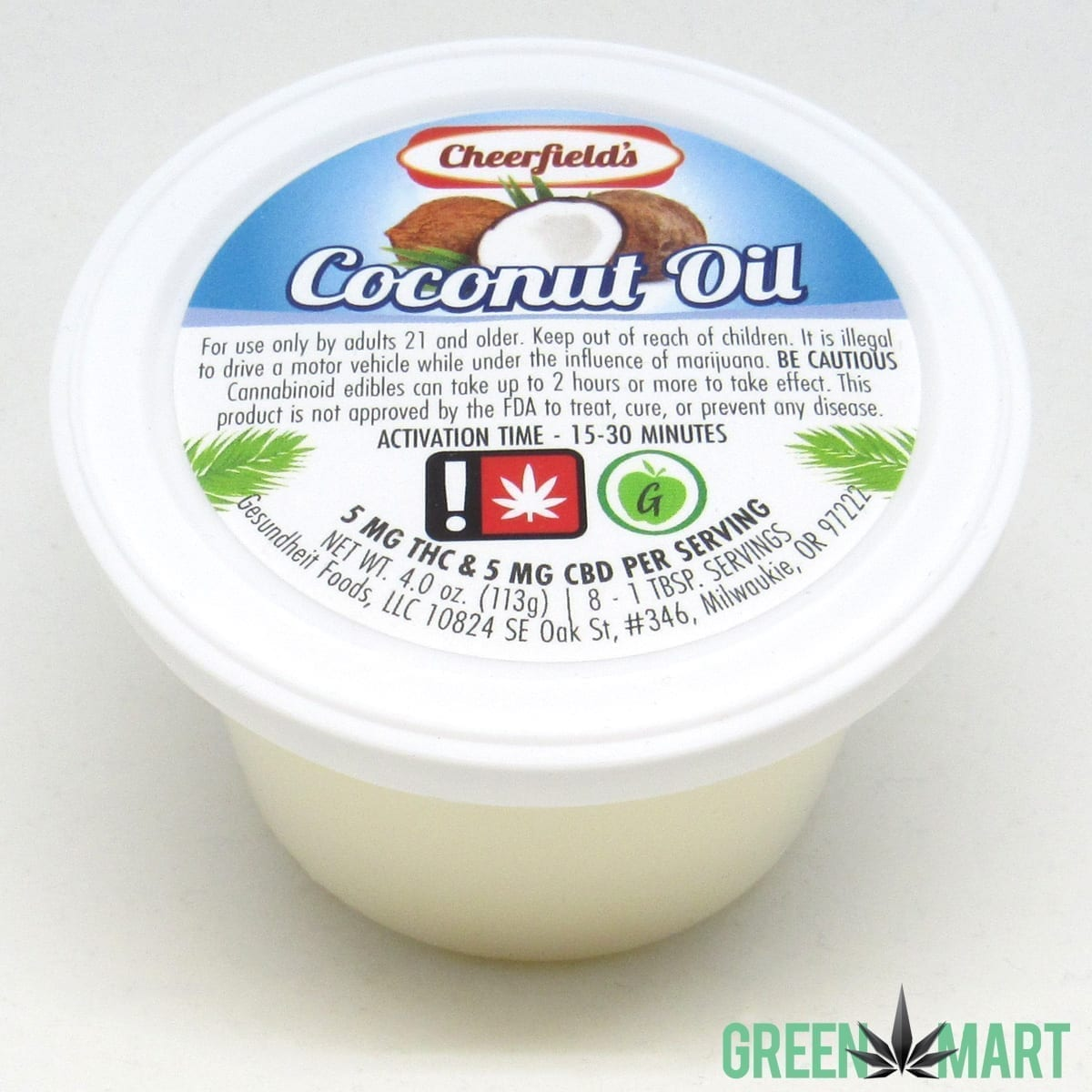 Cheerfield's Coconut Oil