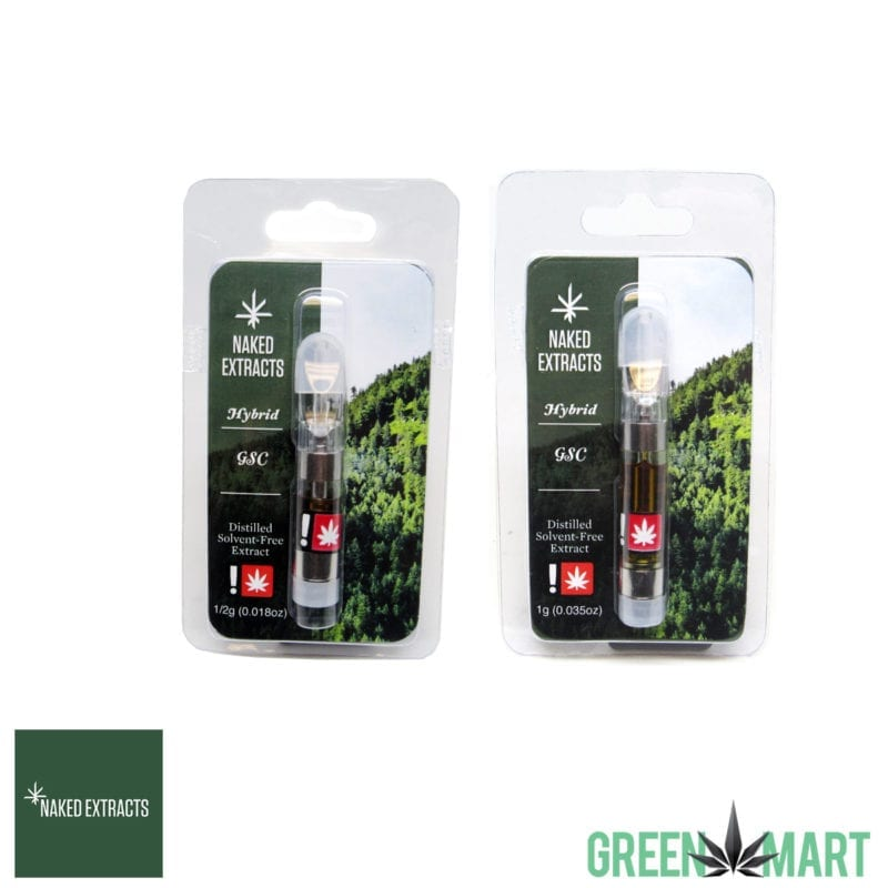 Naked Extracts Cartridges - GSC