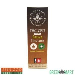 Ra Cannabis 1:1 Sativa Tincture