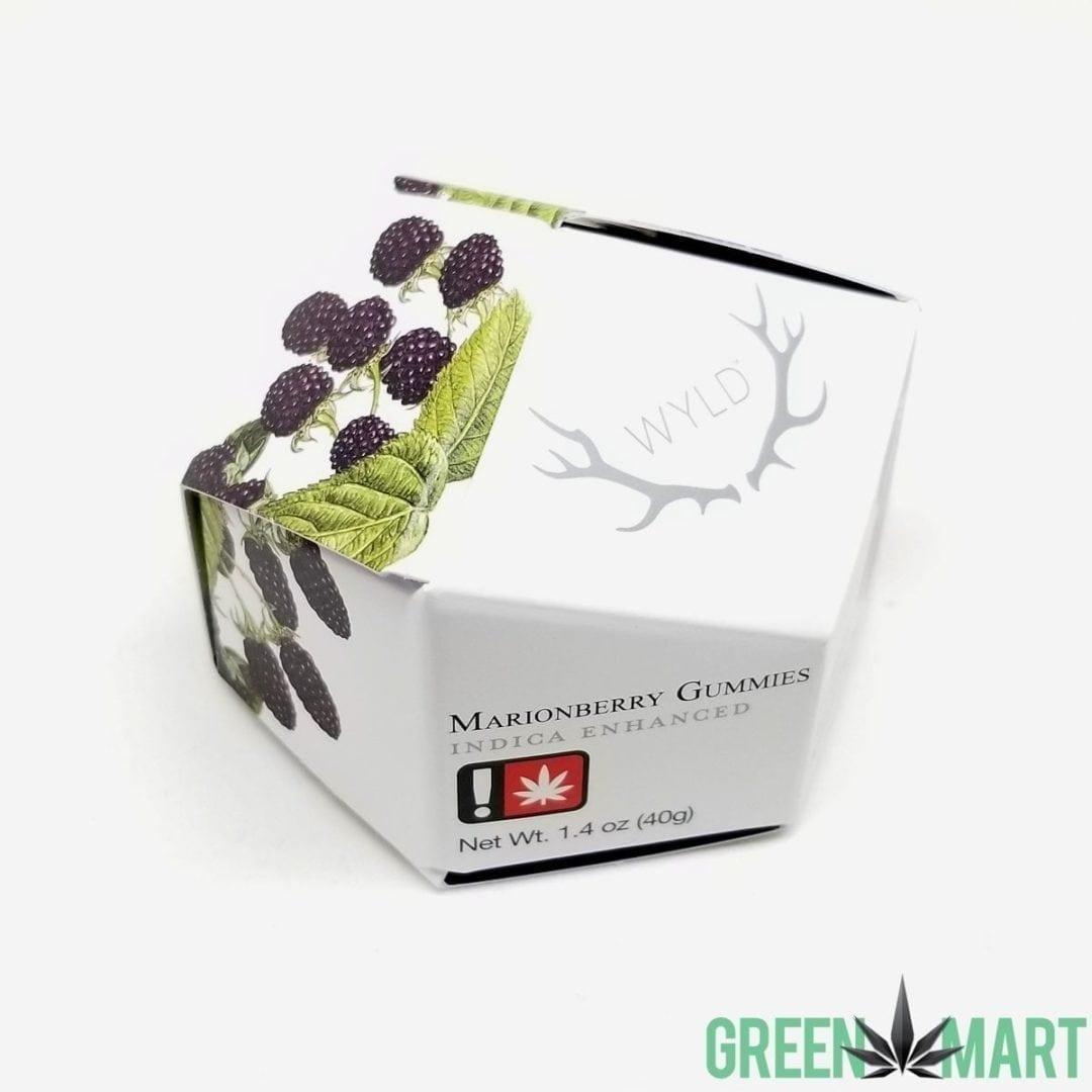 Wyld Marionberry THC Indica Enhanced Gummies