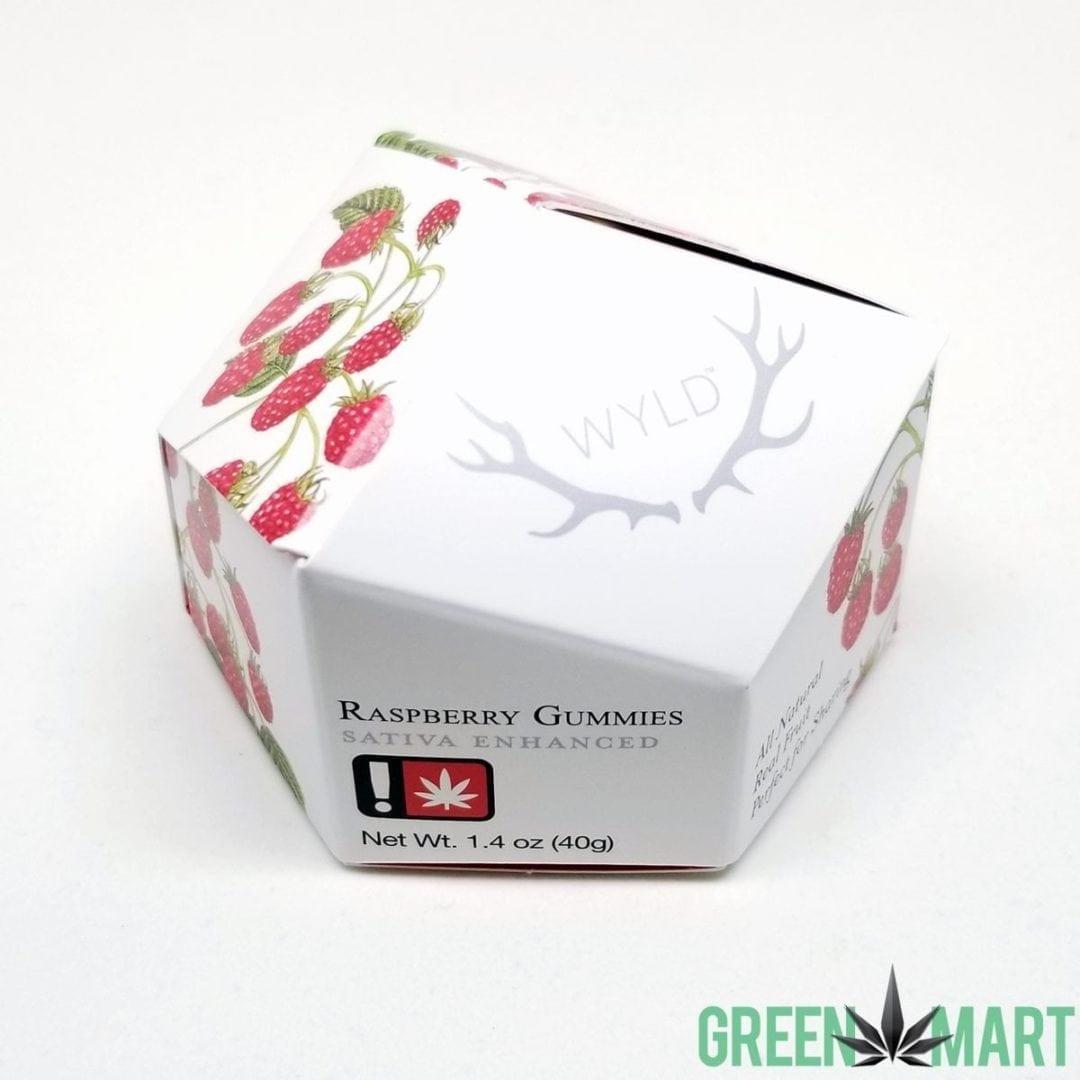 Wyld Raspberry THC Sativa Enhanced Gummies