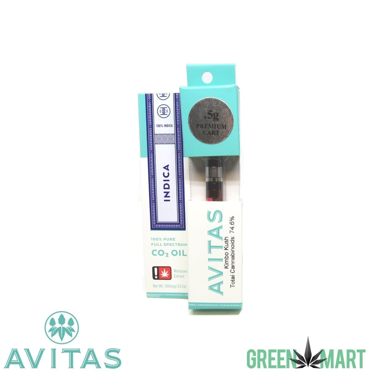 Avitas Cartridges - Kimbo Kush .5g