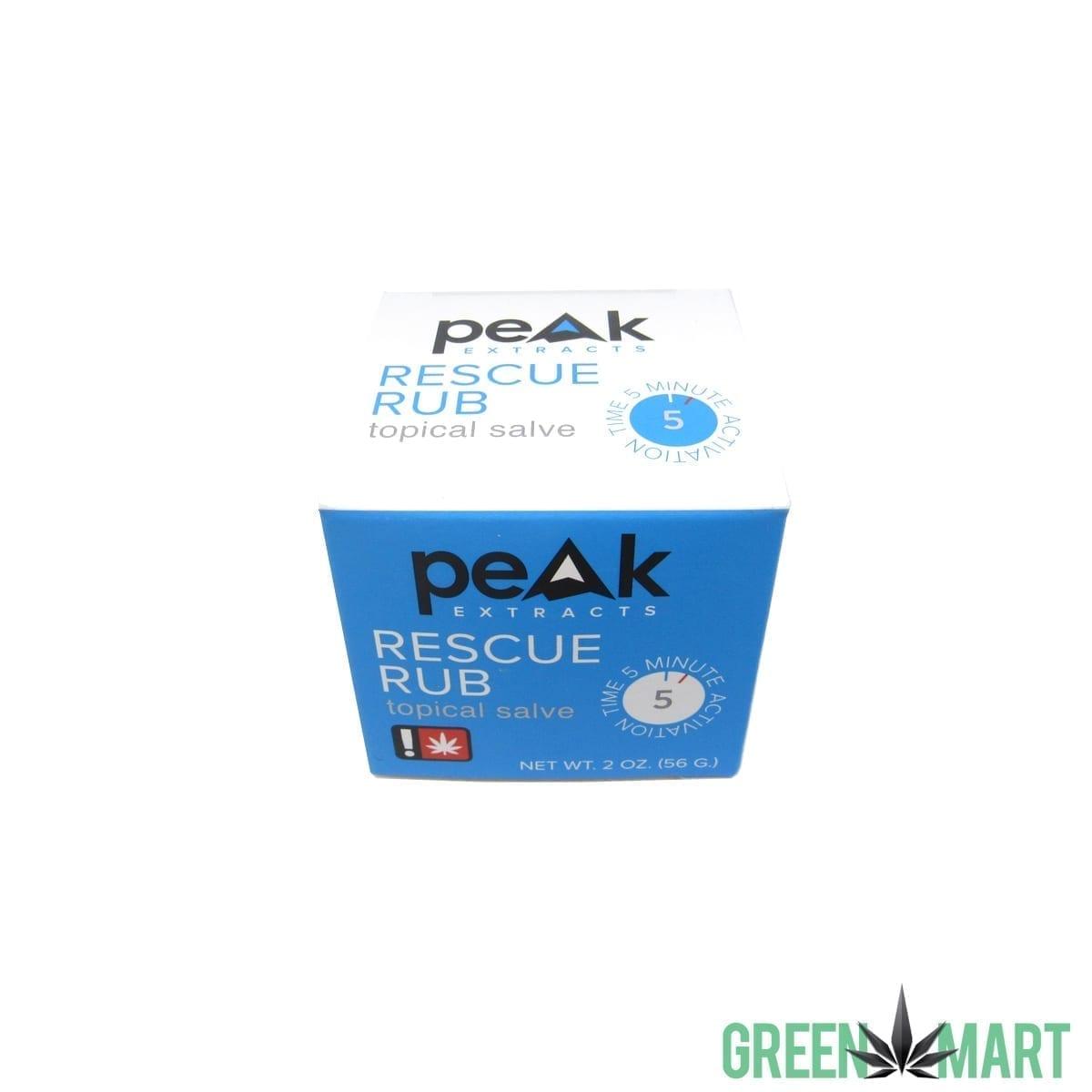 Peak Extracts Rescue Rub 2oz
