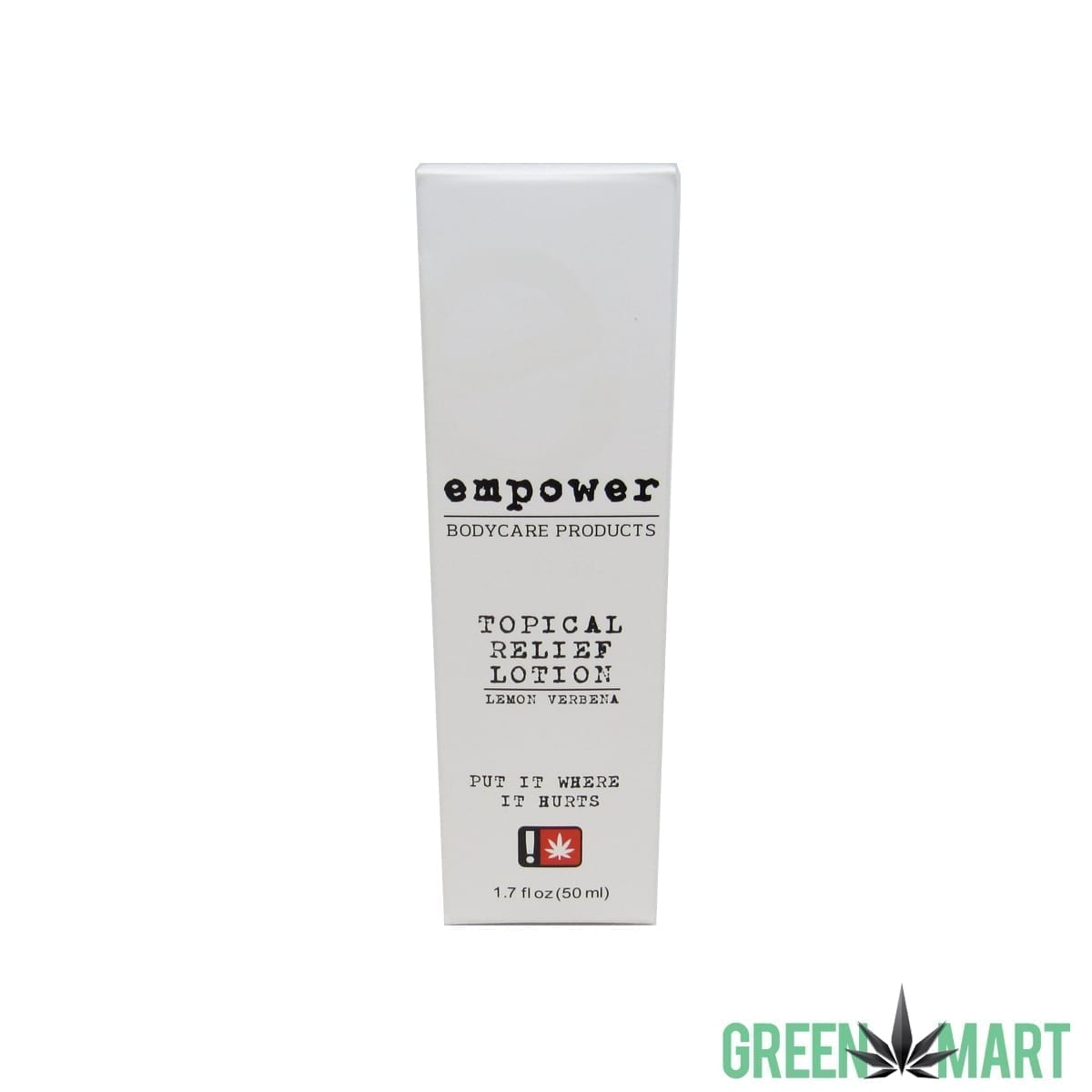 Empower Hemp CBD Topical Relief Lotion