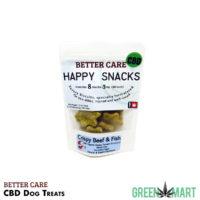 Better Care Happy Snacks CBD Dog Treats 8pack