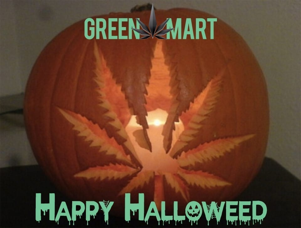 Happy Halloweed from Green Mart