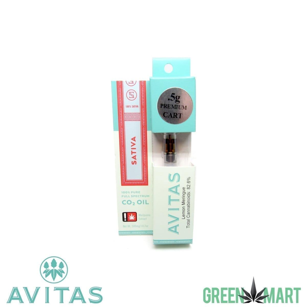 Avitas Cartridges - Lemon Meringue .5g