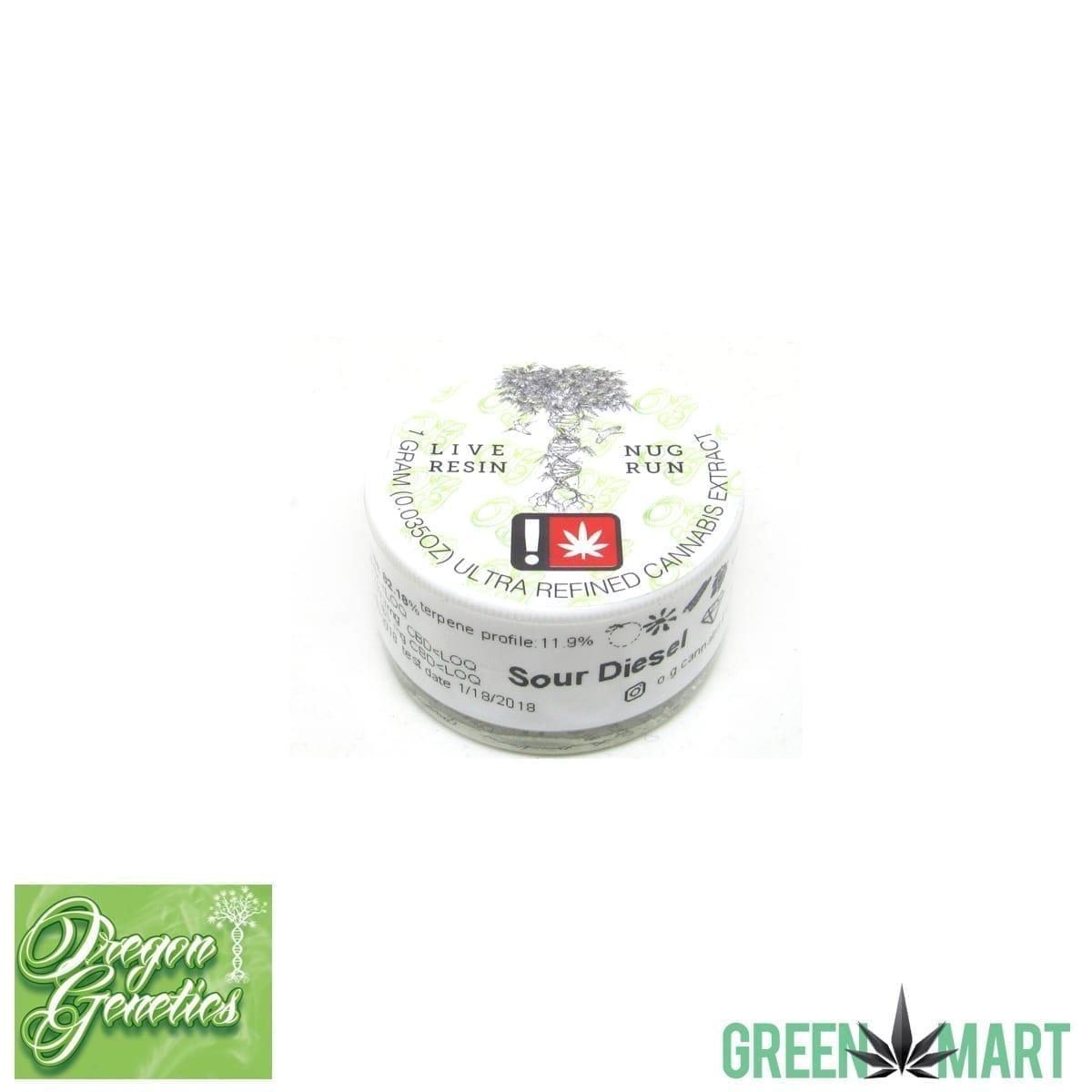 Oregon Genetics - Sour Diesel Diamonds