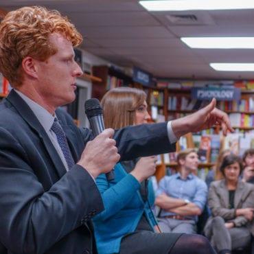 Rep. Joe Kennedy Speaking at Librady