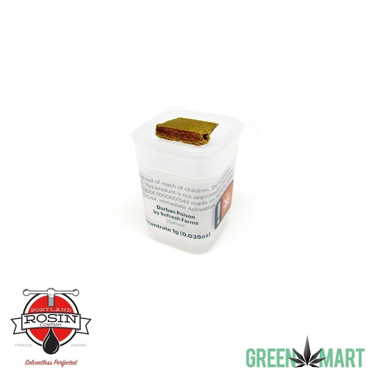 Portland Rosin Company - Durban Poison Hashish