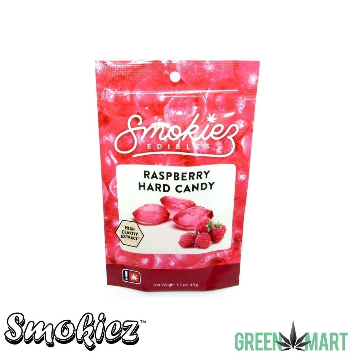 Smokiez Edibles - Raspberry Hard Candy