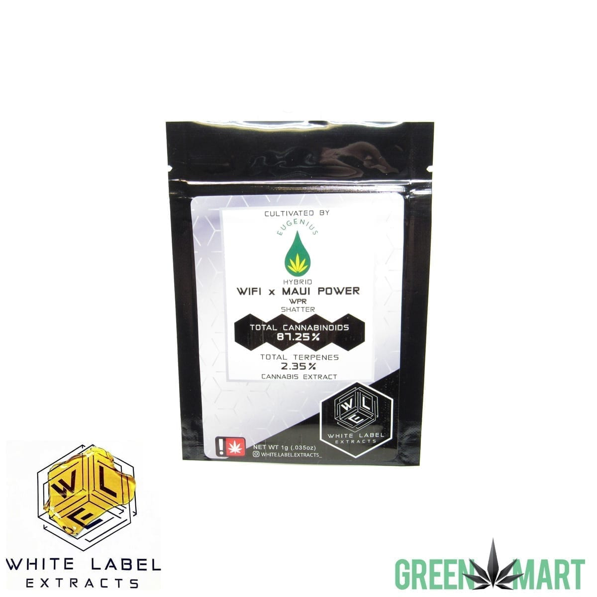 White Label Extracts - Wifi x Maui Power