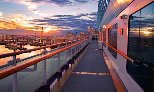 Cruise-Ship-Exterior-at-Sunset