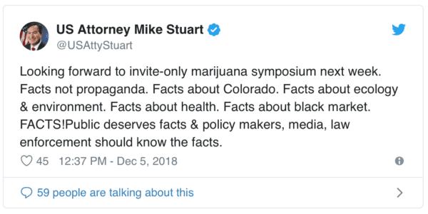 US Attorney General Tweets