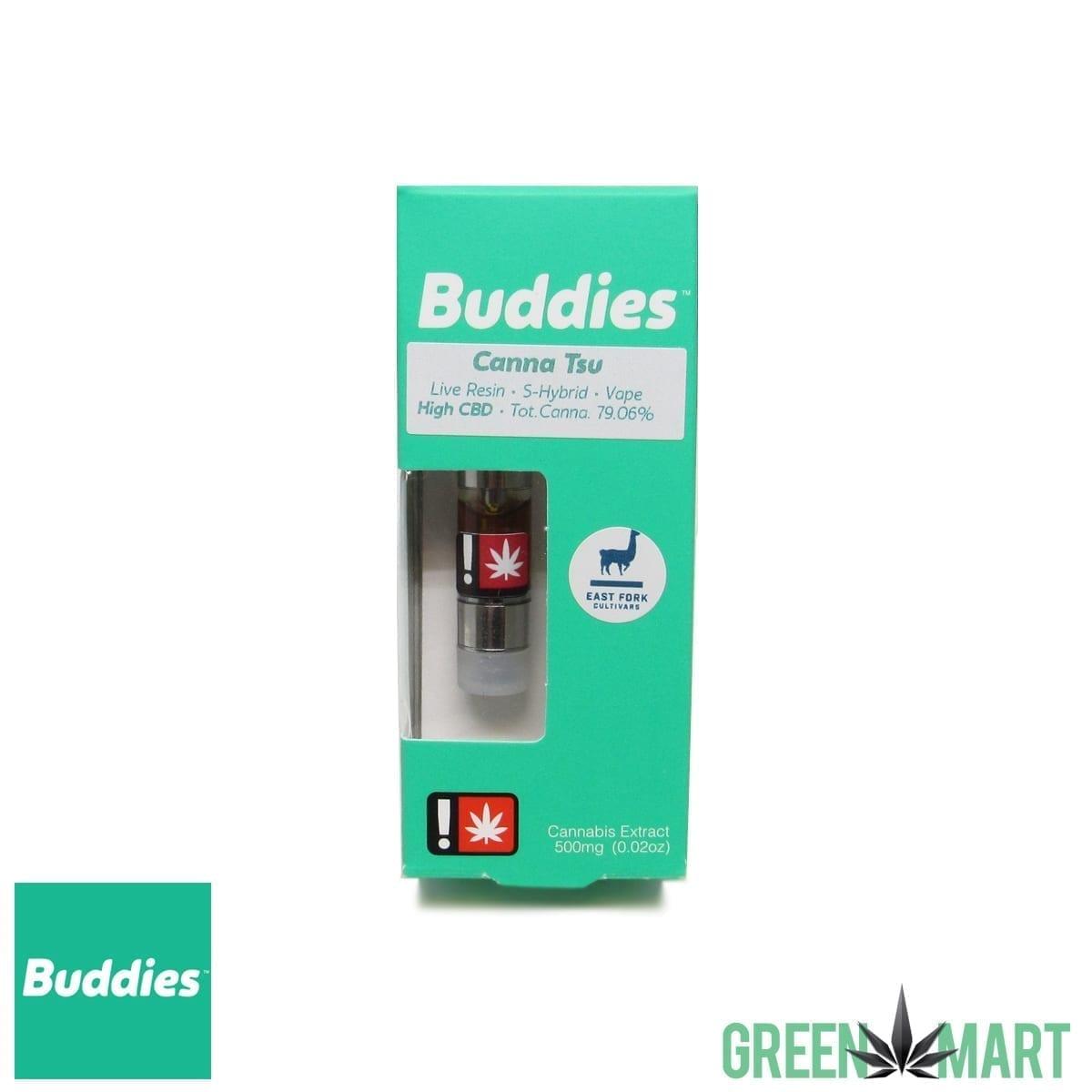 Buddies Brand Live Resin Cartridge - Canna Tsu