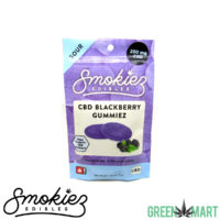 Smokiez CBD Gummiez - Sour Blackberry Gummiez