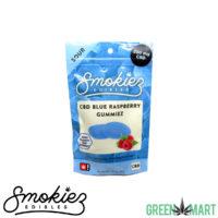 Smokiez CBD Gummiez - Sour Blue Raspberry Gummiez