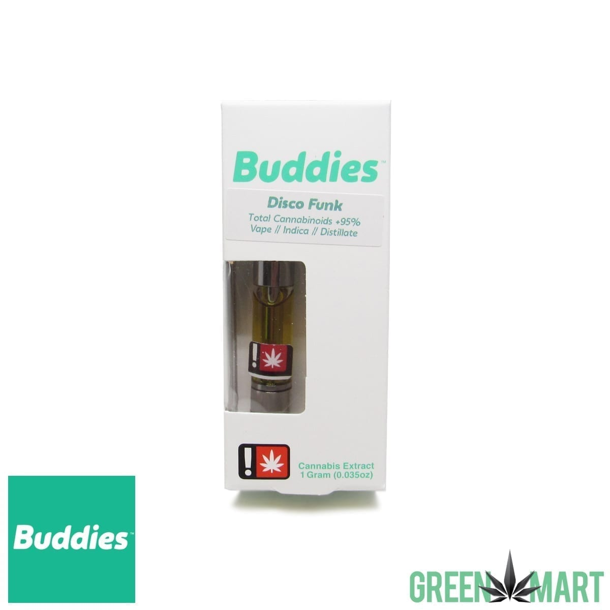 Buddies Brand Distillate Cartridge - Disco Funk