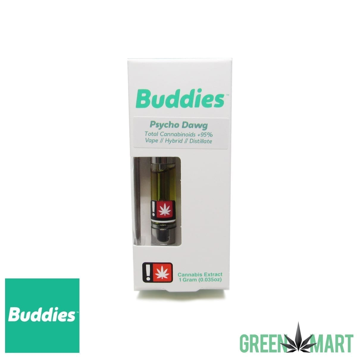 Buddies Brand Cartridge - Psycho Dawg