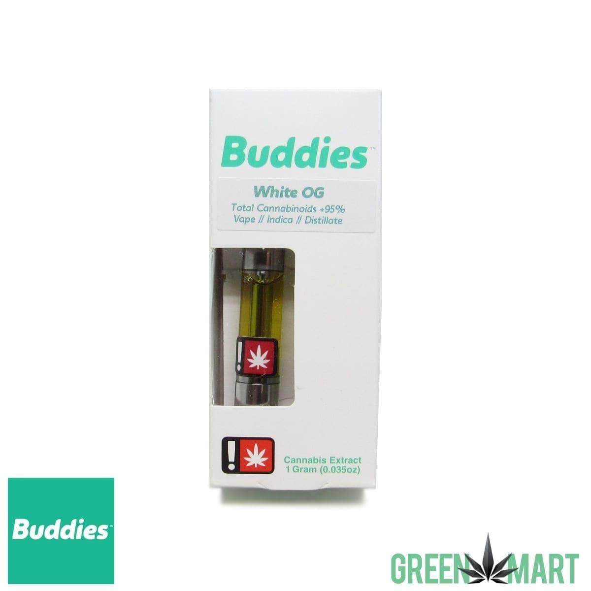 Buddies Brand Distillate Cartridge - White OG