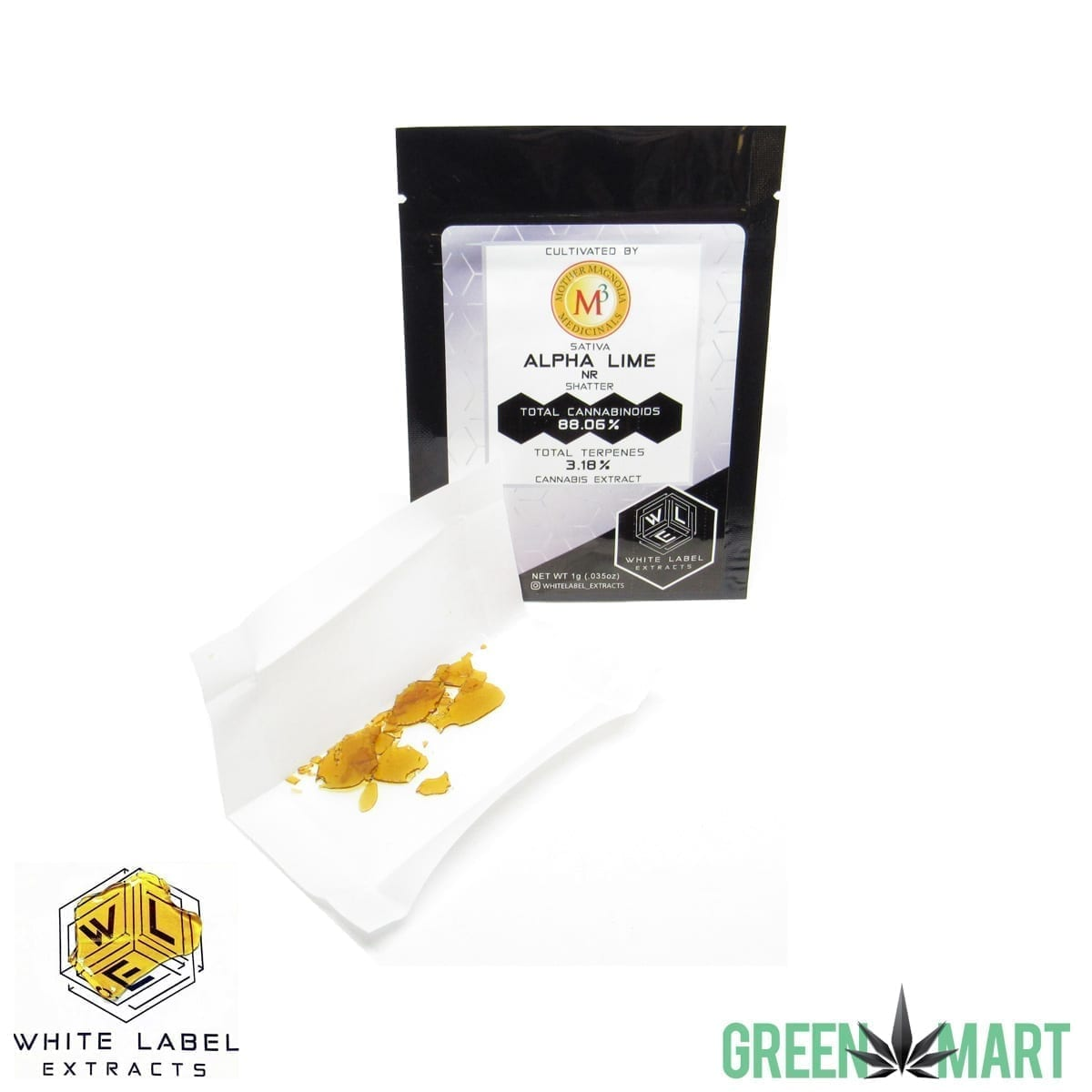 White Label Extracts - Alpha Lime