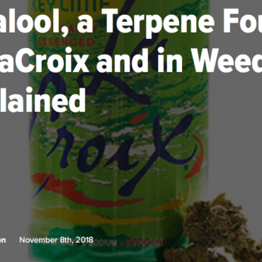 Linalool, a Terpene Found in LaCroix and in Weed, Explained