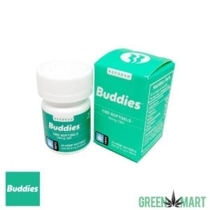 Buddies Brand CBD Gel Caps