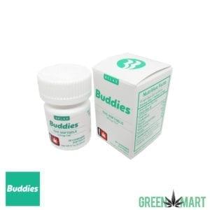 Buddies Brand THC Gel Caps
