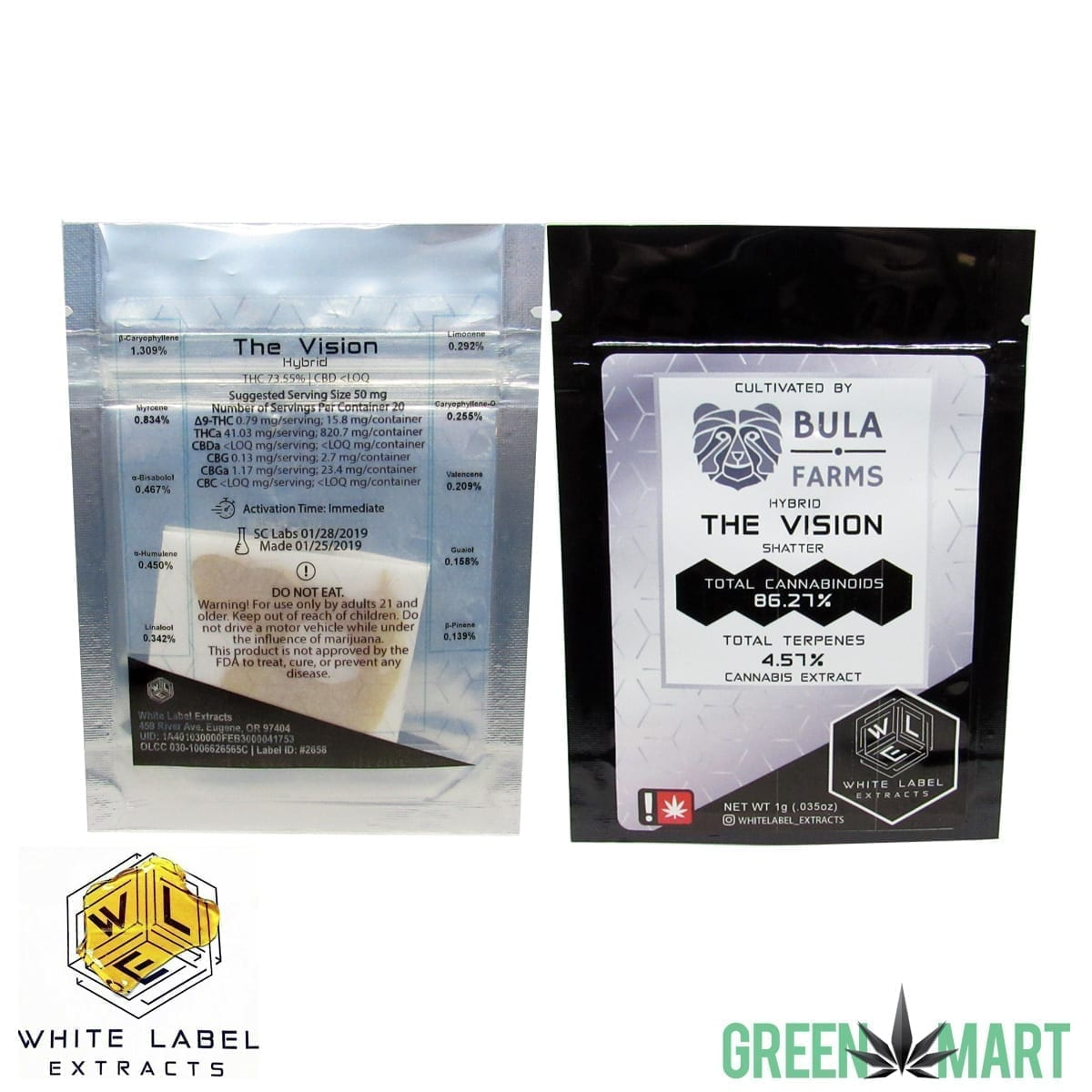 White Label Extracts - The Vision