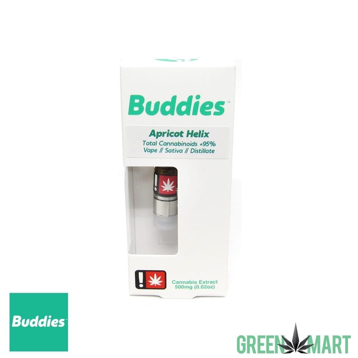 Buddies Brand Distillate Cartridge - Apricot Helix