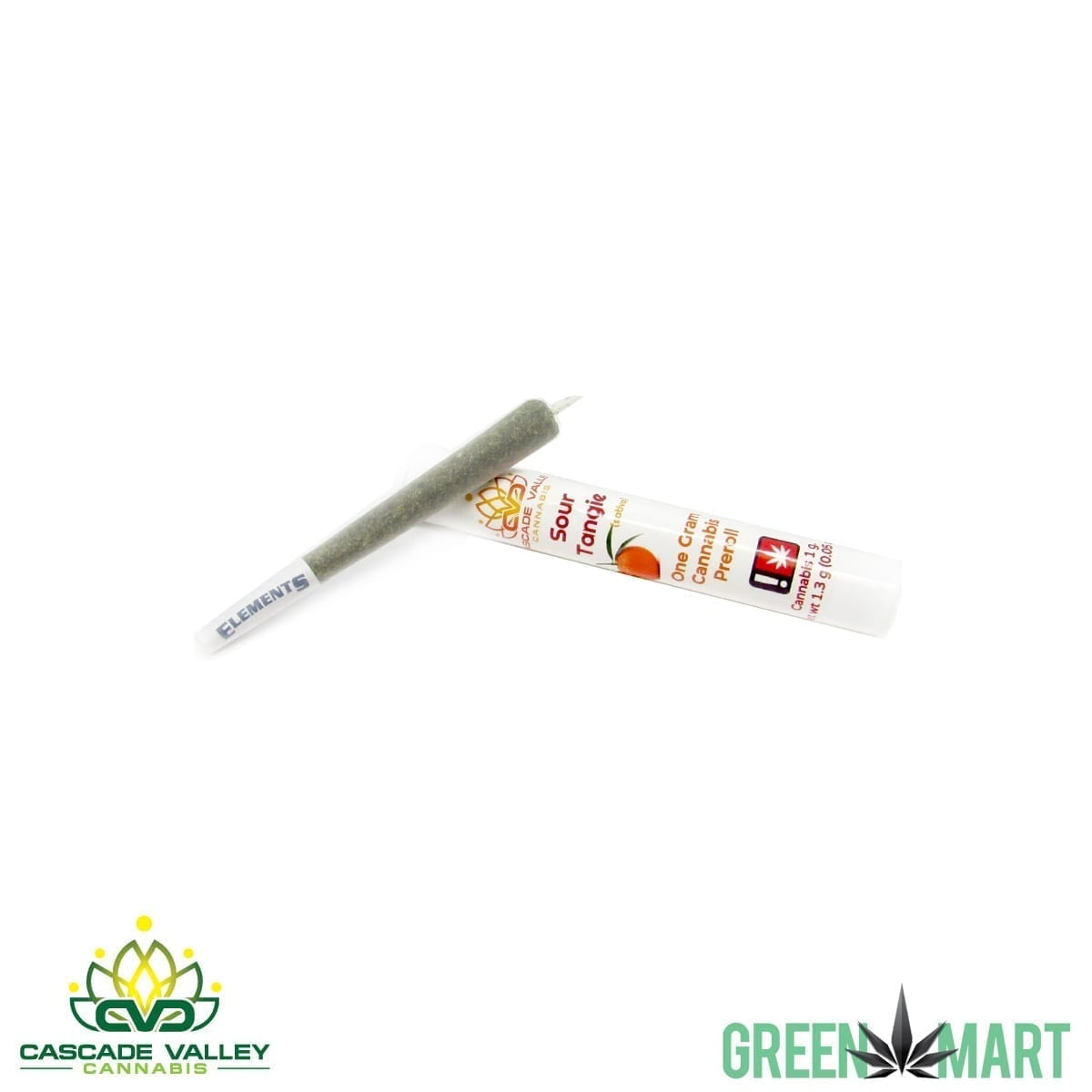 Cascade Valley Cannabis 1g Pre-roll - Sour Tangie