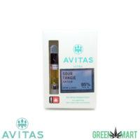 Avitas Ultra Distillate Cartridges - Sour Tangie