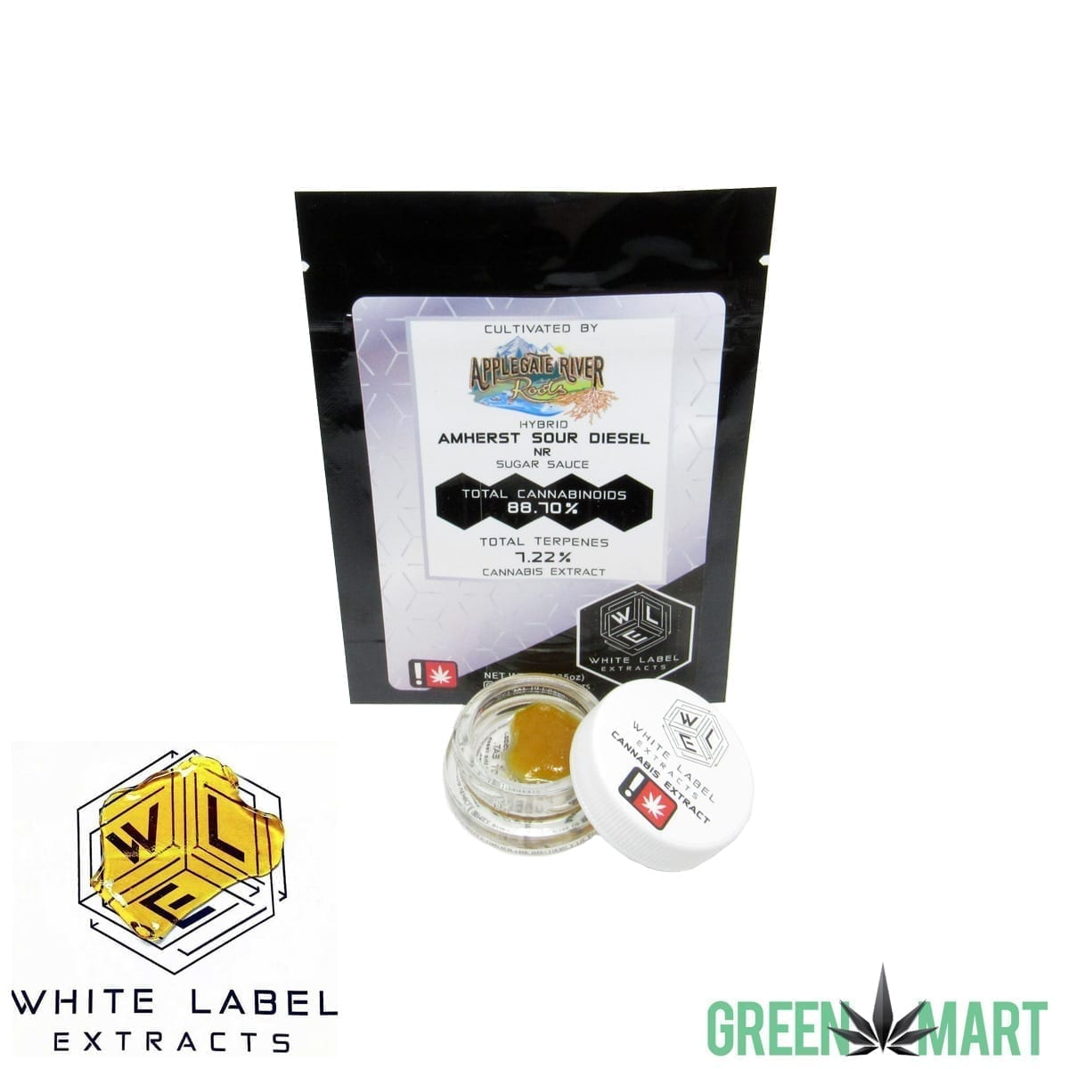 White Label Extracts - Amherst Sour Diesel