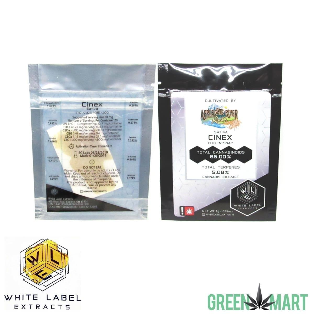 White Label Extracts - Cinex