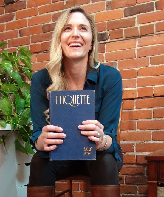EMILY POST'S GREAT-GREAT-GRANDDAUGHTER WROTE A DELIGHTFUL GUIDE TO CANNABIS ETIQUETTE