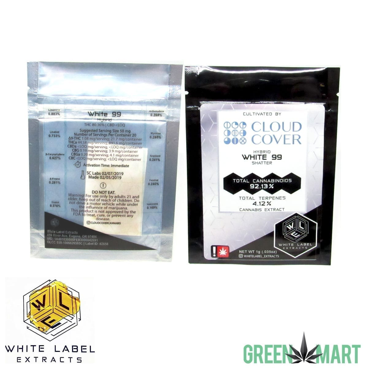 White Label Extracts - White 99