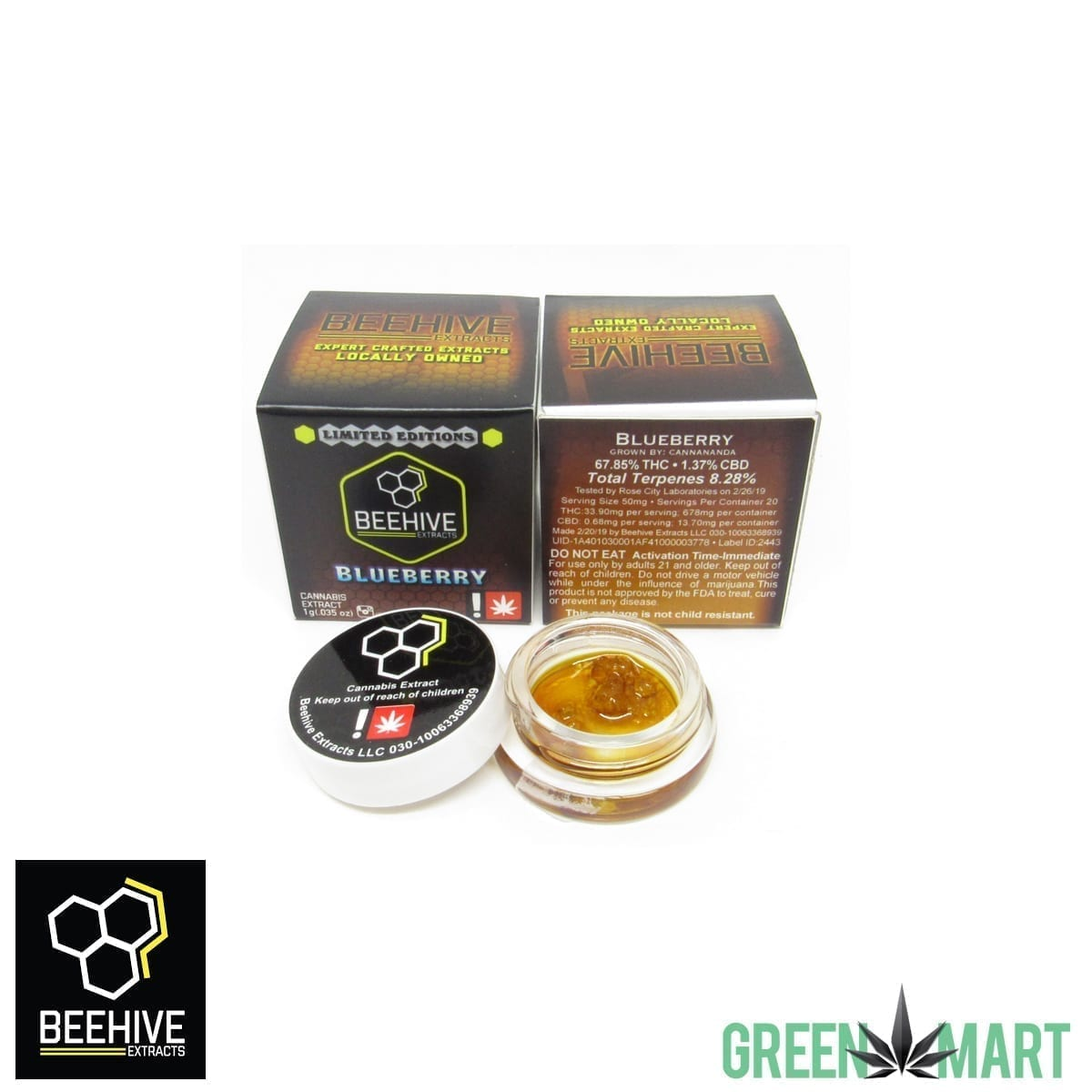 Beehive Extracts - Blueberry