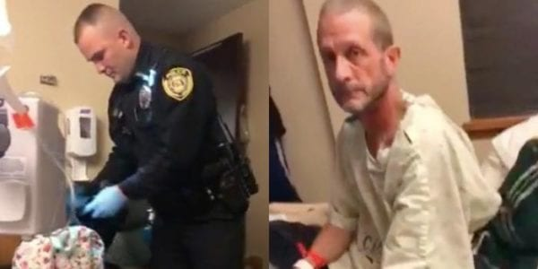Police search cancer patient's hospital room for marijuana; video sparks backlash