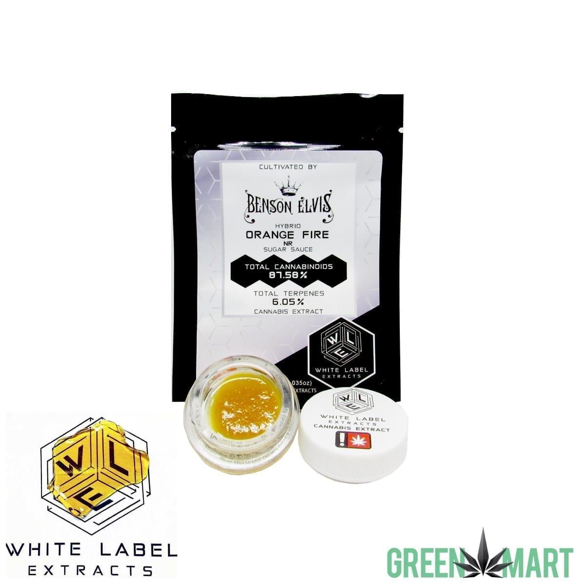 White Label Extracts - Orange Fire Sugar Sauce