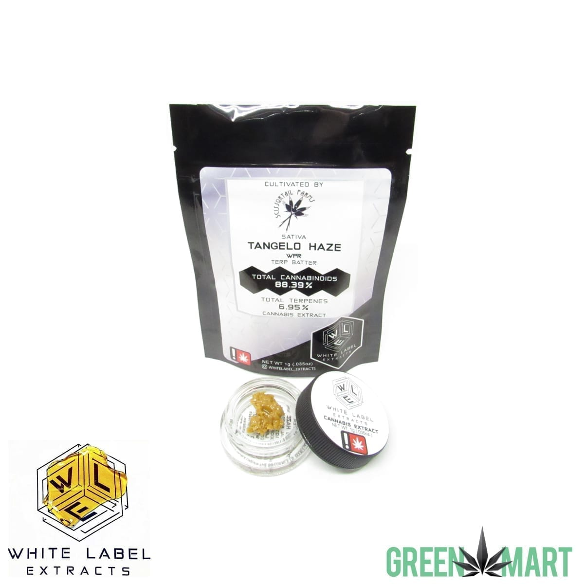 White Label Extracts - Tangelo Haze Terp Batter