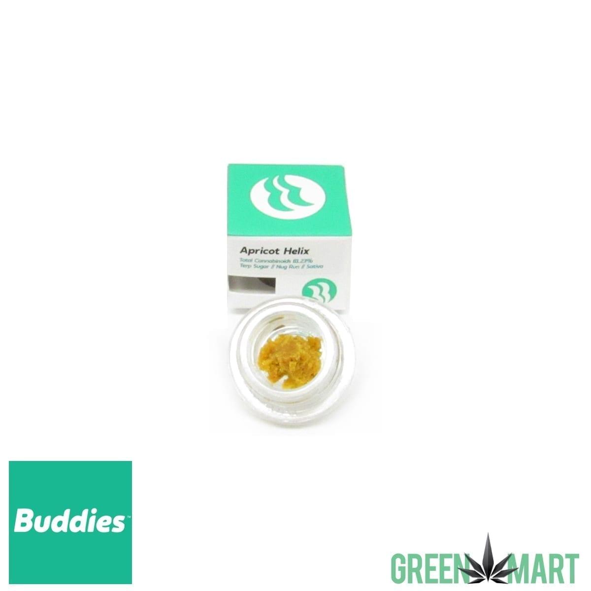Buddies Brand Terp Sugar - Apricot Helix