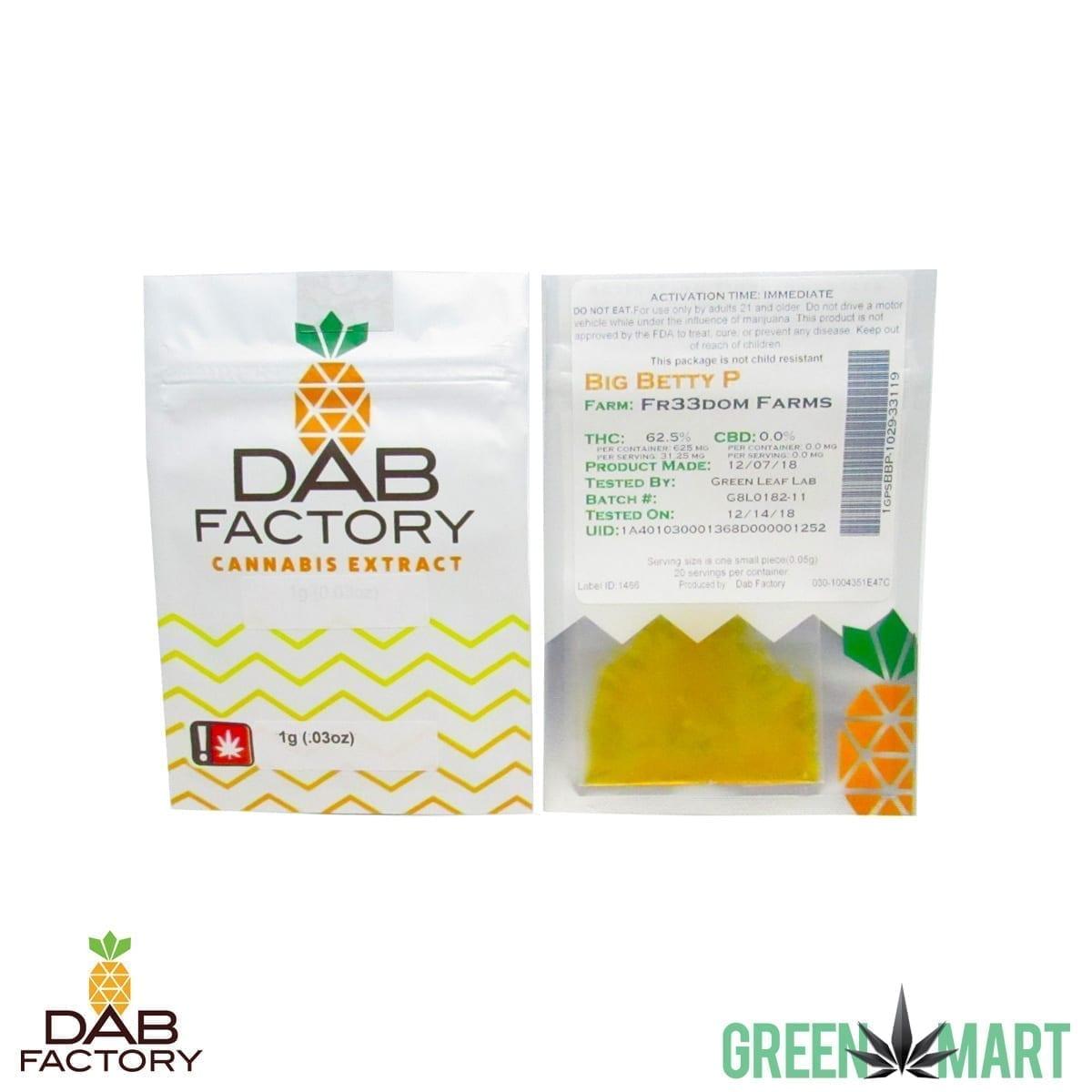 Dab Factory -Big Betty P