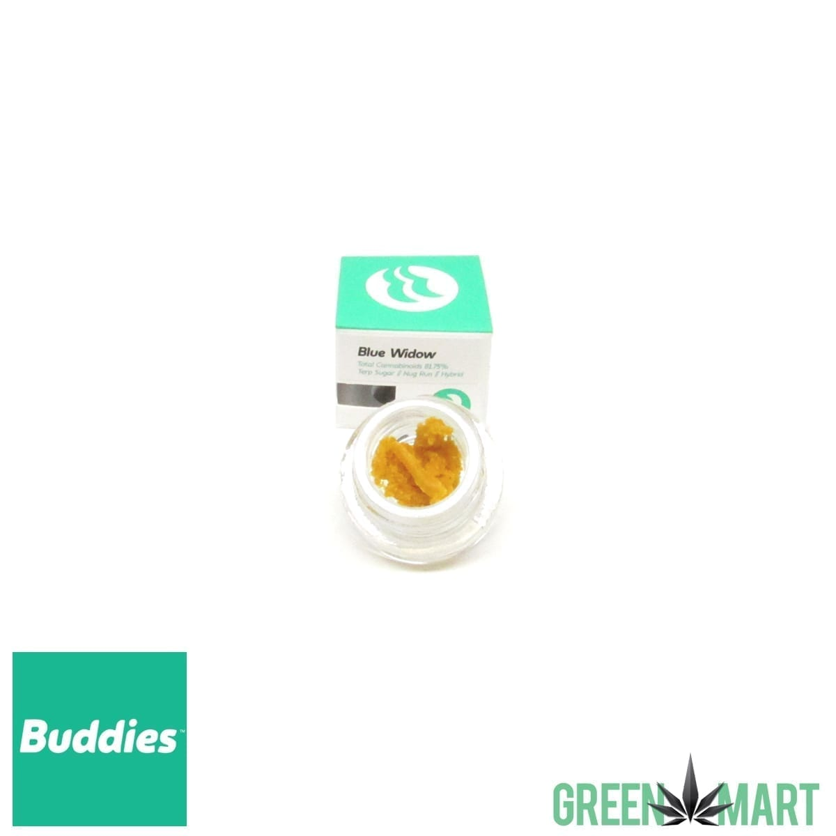 Buddies Brand Terp Sugar - Blue Widow