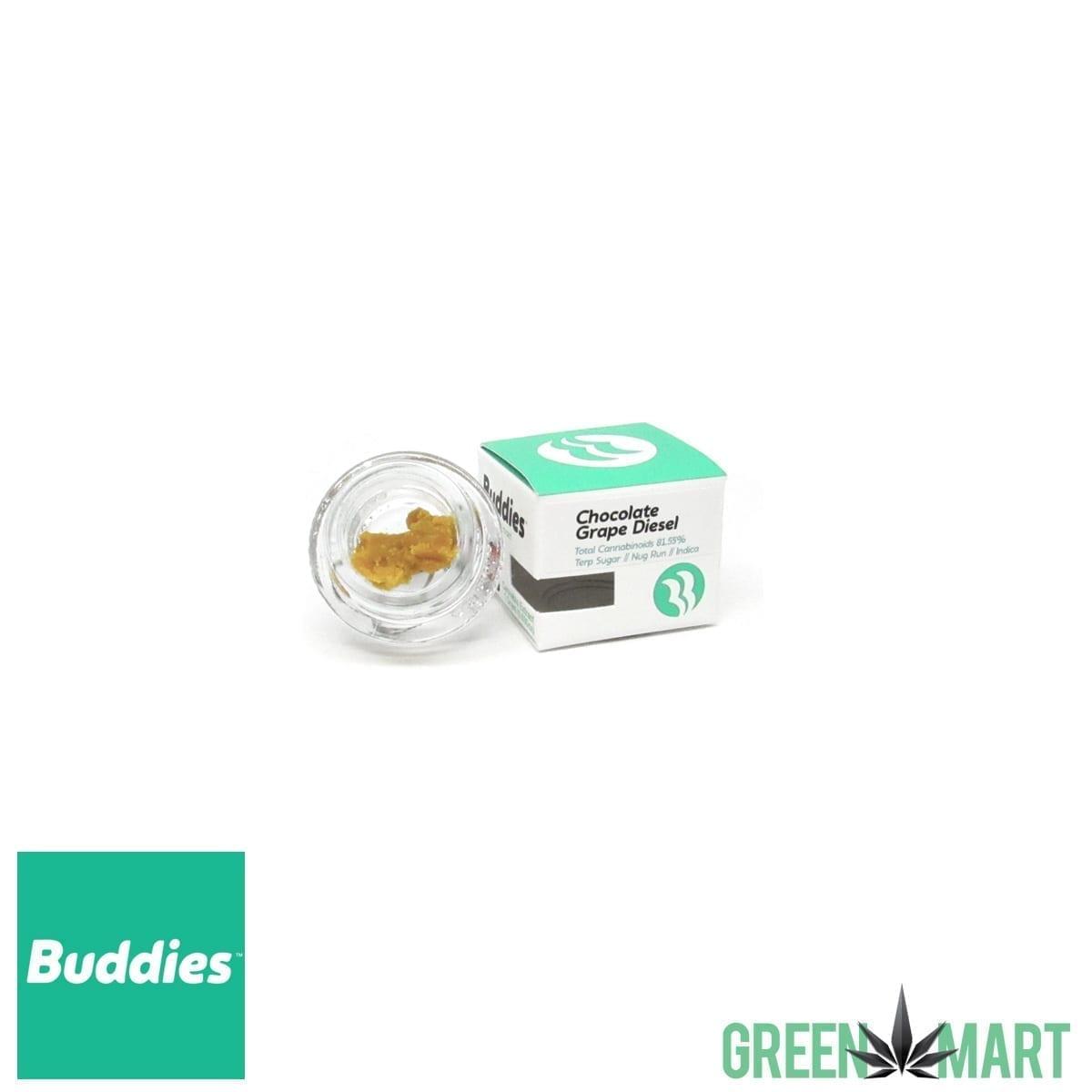 Buddies Brand Terp Sugar - Chocolate Grape Diesel