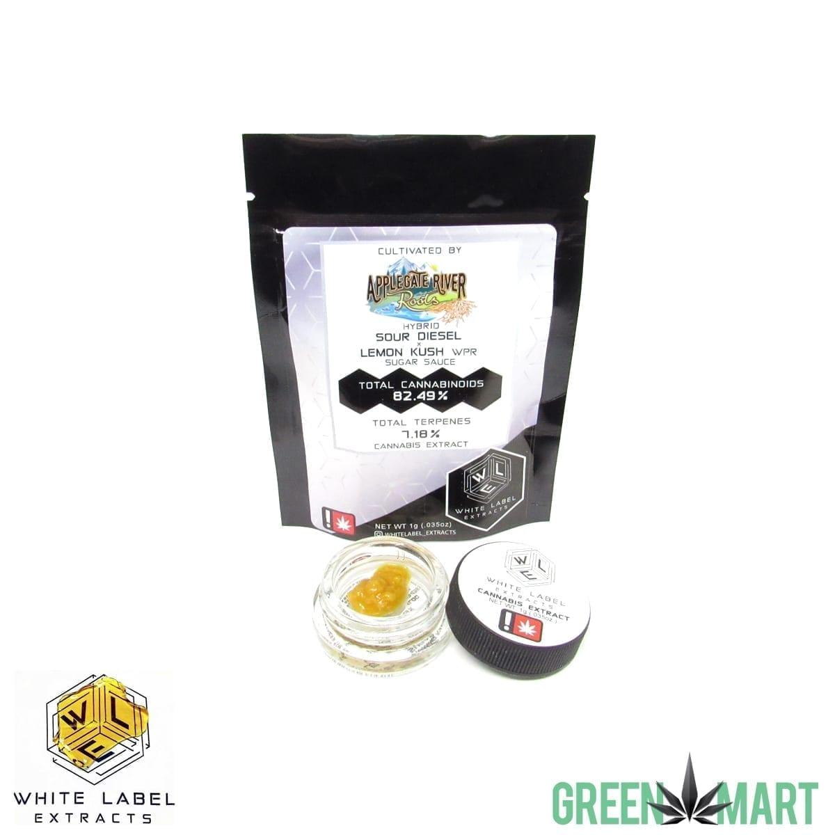 White Label Extracts - Sour Diesel Lemon Kush Sugar Sauce