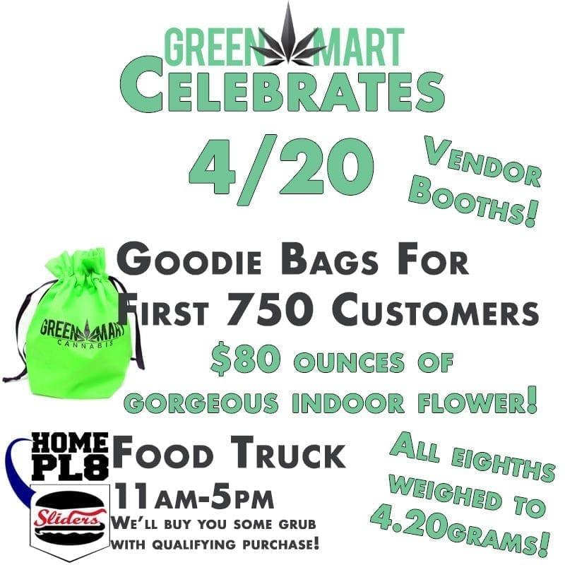 Green Mart Celebrates 4/20