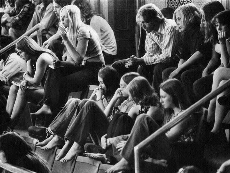 Observers in the galleries of a legislative hearing about a marijuana bill in May 1973 (Denver Post via Getty Images) Read more: https://www.smithsonianmag.com/history/why-1970s-effort-decriminalize-marijuana-failed-180972038/#qkVgRIBDU3XaD25d.99 Give the gift of Smithsonian magazine for only $12! http://bit.ly/1cGUiGv Follow us: @SmithsonianMag on Twitter
