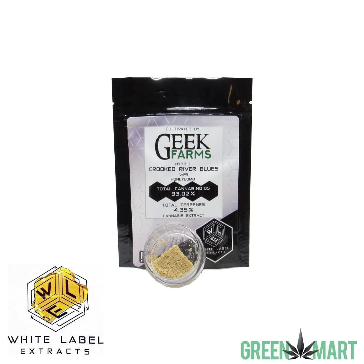 White Label Extracts - Crooked River Blues Honeycomb